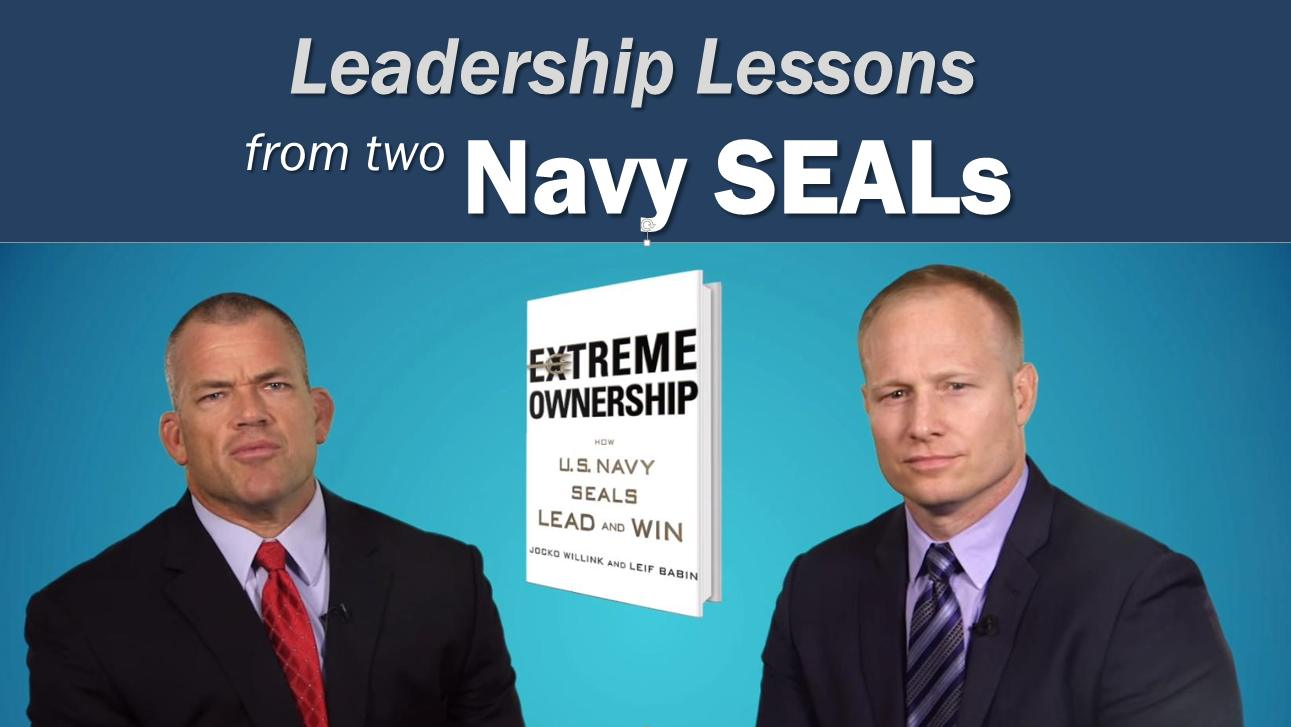 Leadership Coaching from Navy Seals