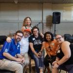 Steve Moubray, Yogita Dhond and David Kane at Coaching Camp 2019