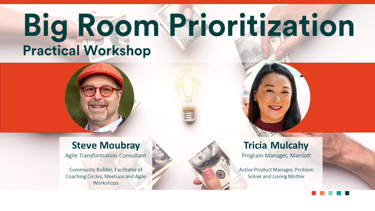 Tricia Mulcahy and Steve Moubray - Big Room Prioritization